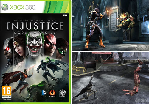 بازی Injustice Gods Among Us XBOX360